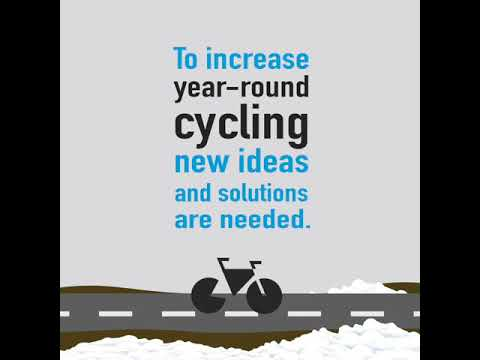 Cycling Plus Minus – innovation competition for increased winter cycling