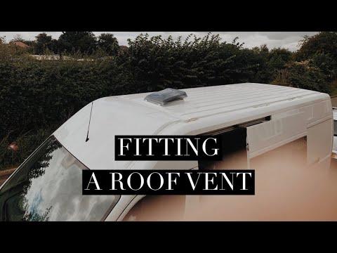 HOW TO INSTALL A FIAMMA ROOF VENT – PEUGEOT BOXER VAN BUILD