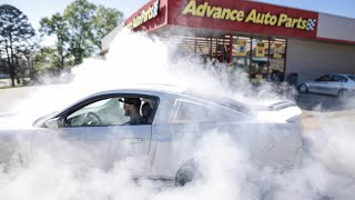 "Advance Auto Parts asked for a ""Small"" Burnout..."