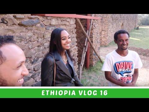Ethiopia Vlog 16 Gondar Gondar!! AMAZING Castles of Ethiopia | Amena Teferi