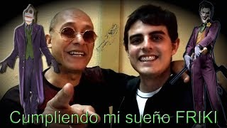 Cumpliendo mi sueño Friki con Rubén León