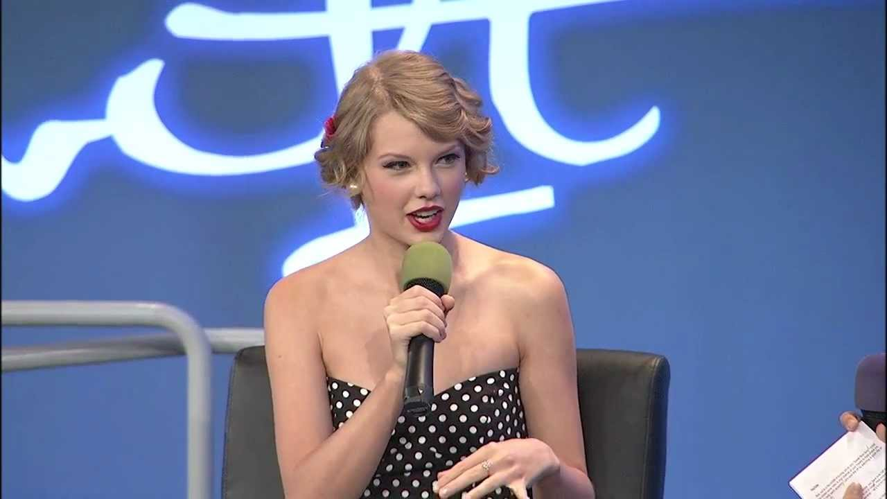 Youtube Presents Taylor Swift