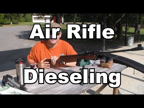 Air Rifle Dieseling For More Power