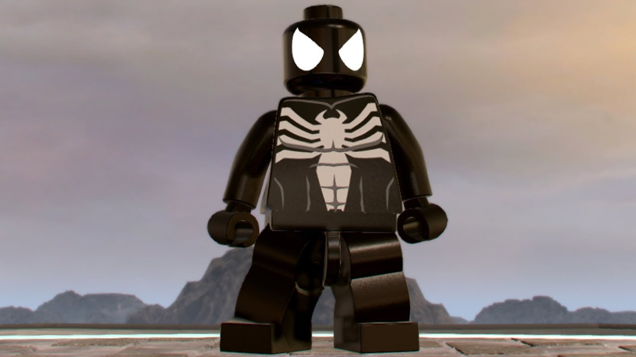 lego marvel super heroes 2 spiderman symbiote open