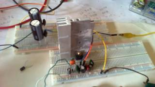 DIY LM1875 Amplifier and DIY Bipolar Power Supply