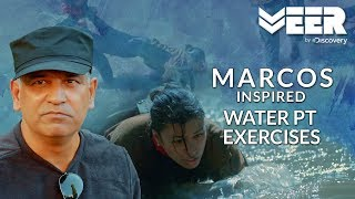 MARCOS Inspired Training - Water PT Exercises | India's Citizen Squad E3P1 | Veer By Discovery