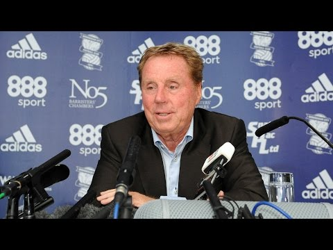 PRESS CONFERENCE | Harry Redknapp unveiled as Birmingham City manager