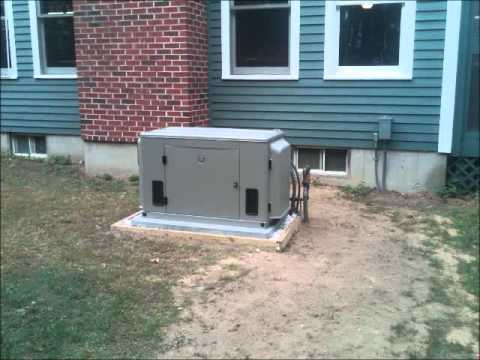 Home Standby Generator Installer NH, VT, Maine.wmv