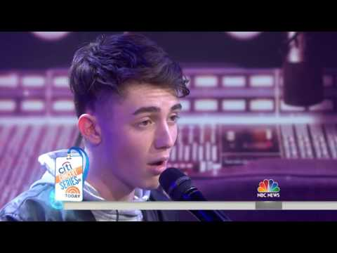 Greyson Chance  Hit & Run  Live on Today