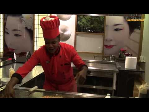 Teofil Japanese cook from the Dominican Republic