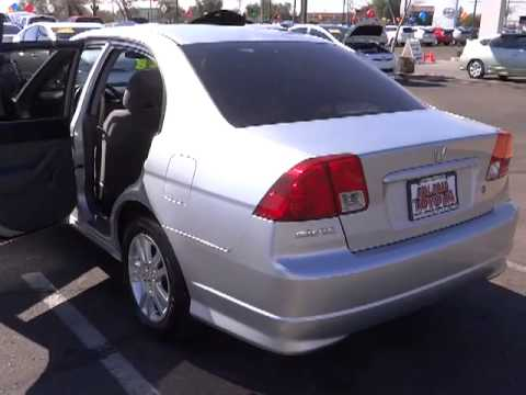 2004 Honda Civic   DX Sedan 4D Phoenix, Glendale, Peoria, Sun City,  Surprise Phoenix AZ 00