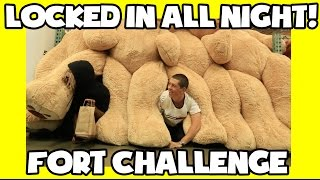 HIDING ALL NIGHT IN A CLOSED COSTCO (TOILET PAPER FORT)