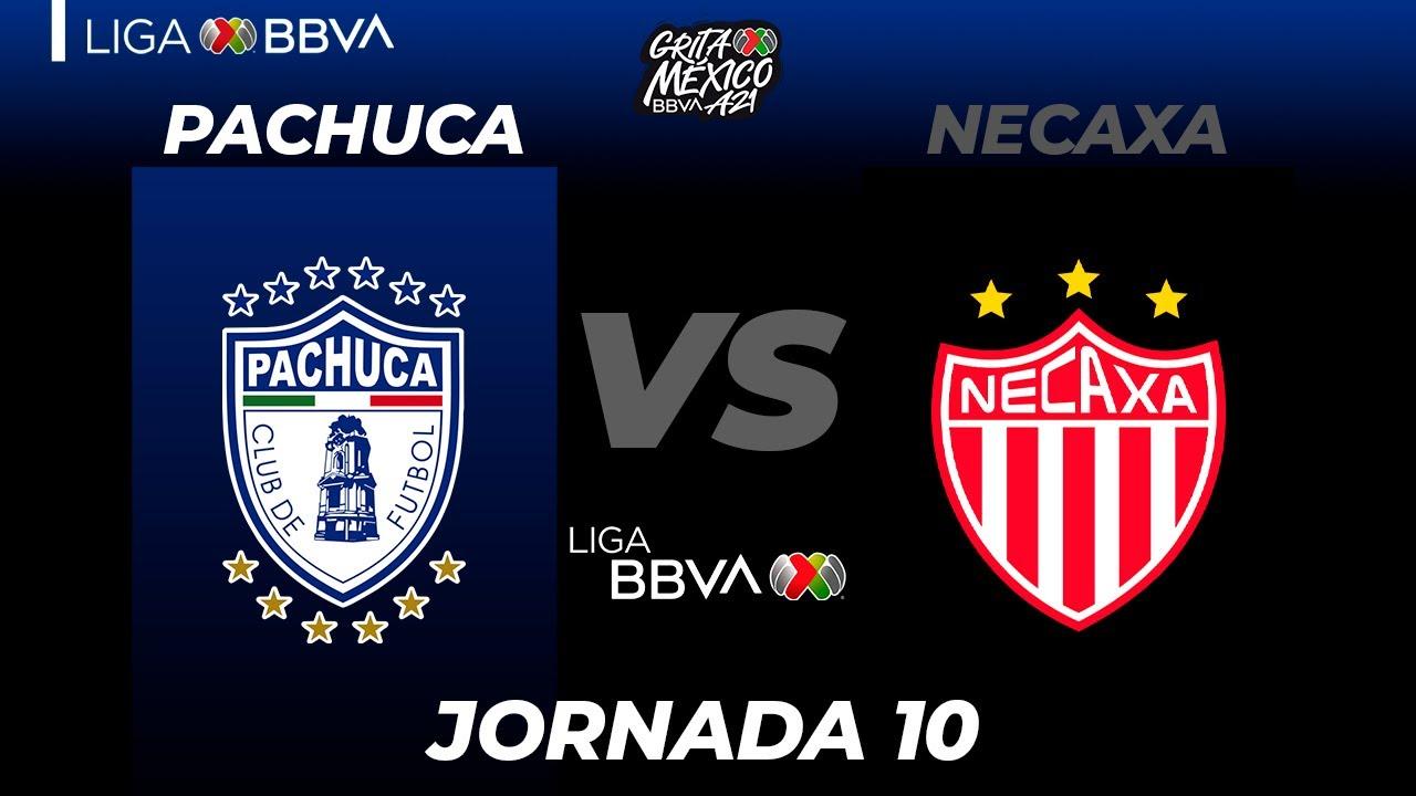 Download Resumen y Goles | Pachuca vs Necaxa | Liga BBVA MX | Grita México A21 - Jornada 10