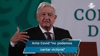 El presidente Andrés Manuel López Obrador anunció que se ampliará el número de Brigadas Correcaminos y centros de vacunación
