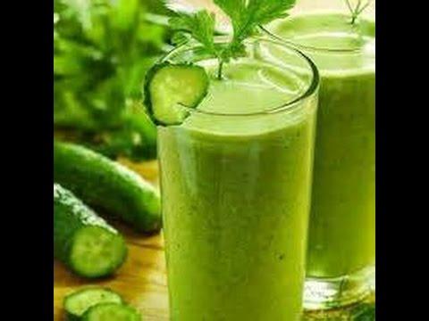 jugos verdes para adelgazar por la noche