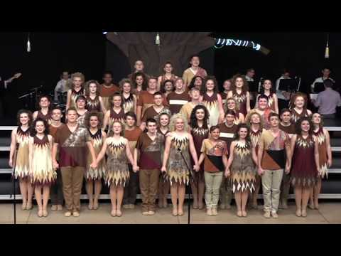 Teays Valley Prominent Rendition 2017 at Southwestern