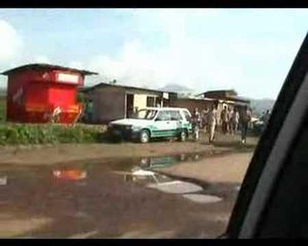 Kamenge - Bujumbura, Burundi warzone