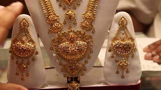 21&22 KDM Gold Bridal Jewellery set collection & price