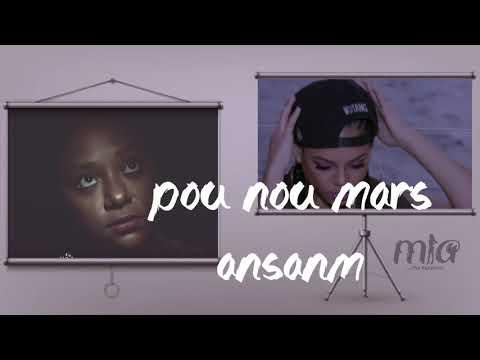 Mon En fanm - Mia ft Maria D (Lyrics video)