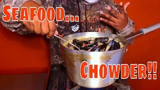 EASY SEAFOOD CHOWDER - VIDEO RECIPE -Super Delicious