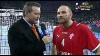 Rozmowa z Mariuszem Jurasikiem tuż po zdobyciu przez polskich piłka...