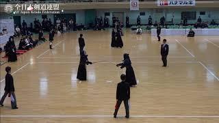 YAMAGUCHI vs KYOTO 10th All Japan Interprefecture Ladies KENDO Championship 2018 1st Round