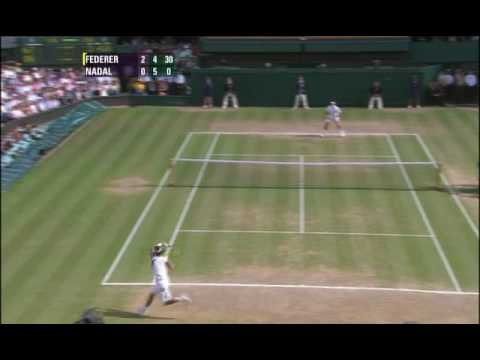 Wimbledon 2006 Federer Nadal Final Highlights