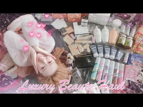 EUROPE 🇪🇺 LUXURY BEAUTY HAUL - MAKEUP & SKINCARE 💄 YSL, CHANEL, MAC, BIOTHERM, HUGO BOSS AND MORE ♥
