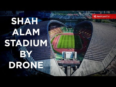 Shah Alam Stadium, Malaysia, By DRONE