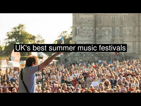 UK's best summer music festivals
