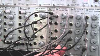 Doepfer A196 PLL- Experiments with the Phase Locked Loop- Basic Patching Part One-Sequencer Patch