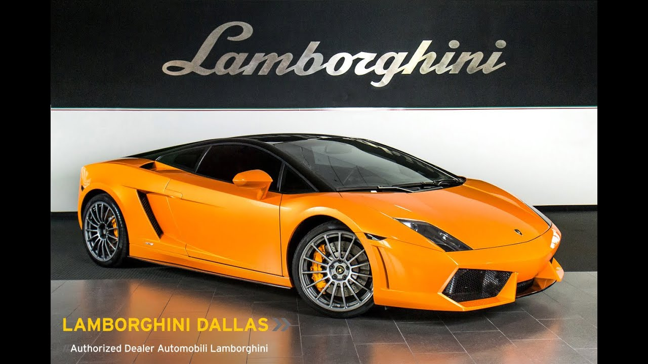 2012 Lamborghini Gallardo Lp 550 2 Bicolore Arancio Borealis Lc333
