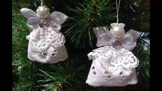 Angel on the Christmas tree for 10min /Ангел на ёлку за 10мин/Anjo na árvore de Natal por 10min