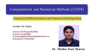 Lecture 26: Computational and Numerical Methods