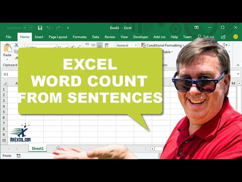 Word count in excel