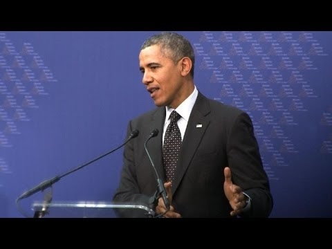 Obama says Russia threats 'out of weakness'