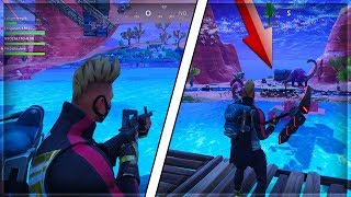 *NEW* HOW TO GET UNDER THE MAP ANYWHERE* ( Fortnite Season 5 Glitches )