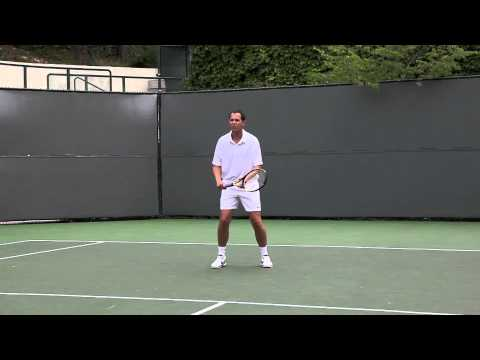 THE BACKHAND HALFVOLLEY