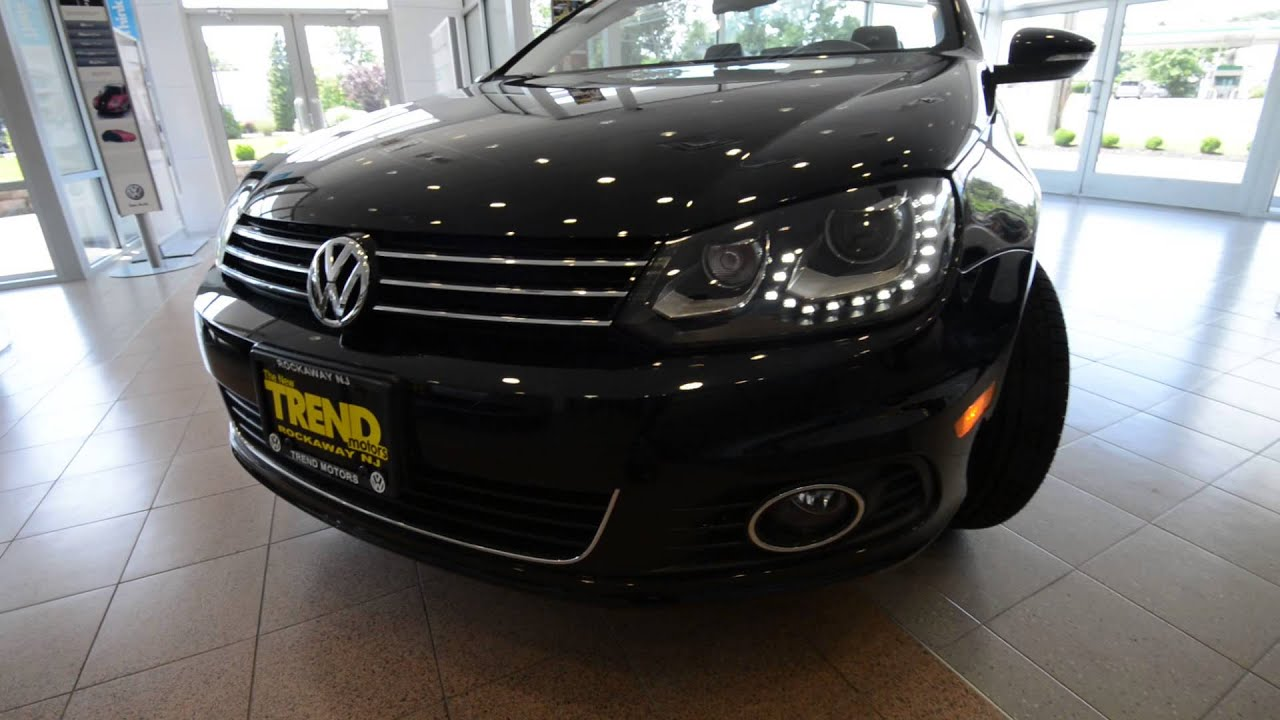 2013 volkswagen eos executive new car at trend motors vw for Trend motors volkswagen rockaway nj