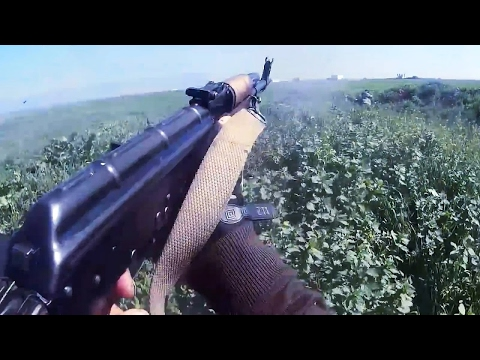 Syria War 2017 - Intense Clashes and Fighting During the Bat