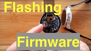 How to Flash new Firmware to your Android Smartwatch