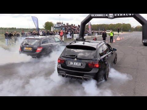 MERCEDES-AMG vs BMW M  - BRUTAL SOUNDS!