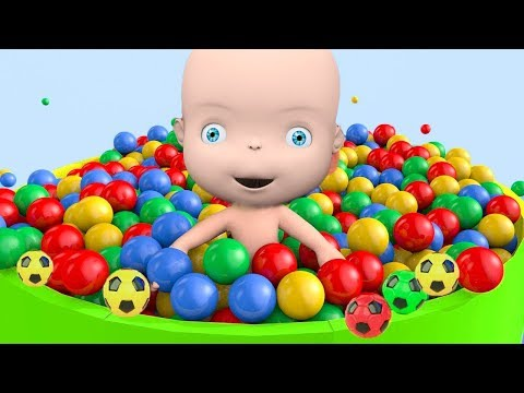 Thumbnail: Learn Color with Balls Baby Surprise Eggs MC Queen car Truck - Colours For Children to Learn