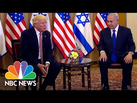 President Trump To PM Netanyahu: Iran's Aggression Has Forced Saudi Arabia, Israel Bond | NBC News