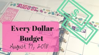 Every Dollar Budget | August 17 | Still No Income | Dave Ramsey Inspired Mp3