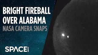 Bright Fireball Burns Up Over Alabama