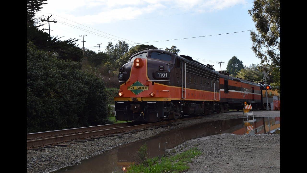 santa cruz and monterey bay railway train to christmas town 2014