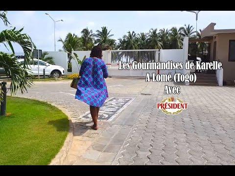 VLOG #3 : Les Gourmandises de Karelle à Lomé avec Président (Novembre 2017)