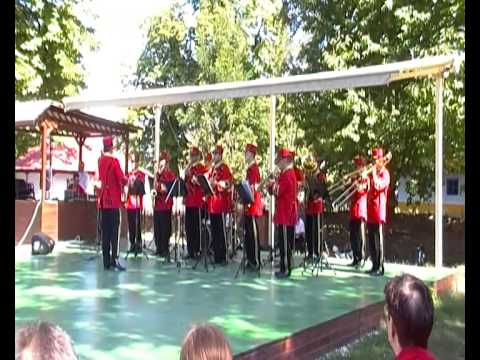 Dimitrie Gusti National Village Museum in Bucharest - Brass Band