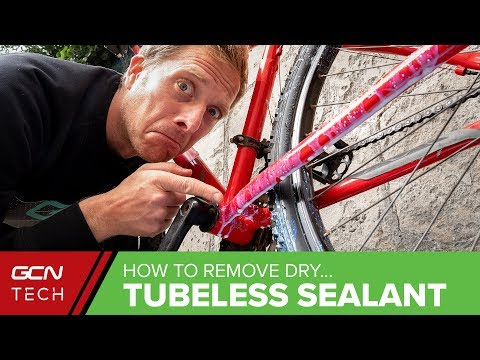 How To Remove Dried Tubeless Tyre Sealant